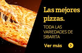 Las mejores pizzas. Todas las variedades de sibarita. Ver más